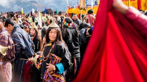 Livin' it up in Laya at the Royal Highlander Festival in Bhutan