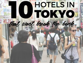 Where to stay in Tokyo: budget hotels that won't break the bank!